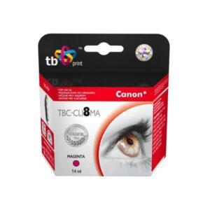 TB Canon CLI-8M – kompatibilní červená (TBC-CLI8MA)