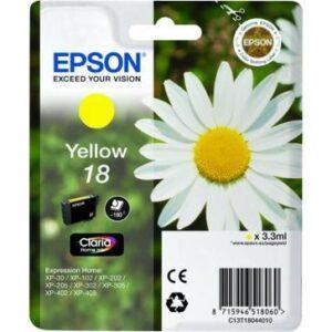 Epson T1804, 180 stran - originální žlutá (C13T18044010)