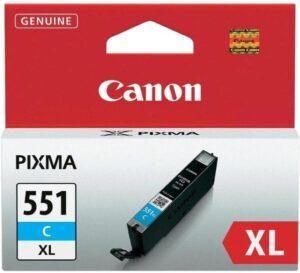 Canon CLI-551XL C, 660 stran - originální modrá (6444B001)