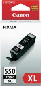 Canon PGI-550XL PGBK, 500 stran - originální černá (6431B001)