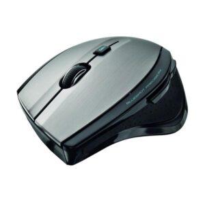 Myš Trust MaxTrack Wireless černá/stříbrná / optická / 6 tlačítek / 1000dpi (17176)