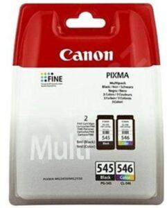 Canon PG-545/CL-546, 180 stran černá/červená/modrá/žlutá (8287B005)
