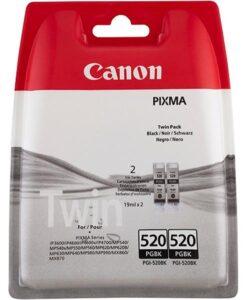 Canon PGI-520BK, 420 stran - originální černá (2932B012)