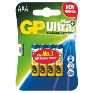GP Ultra Plus AAA, LR03, blistr 4ks (GP 24AUP)