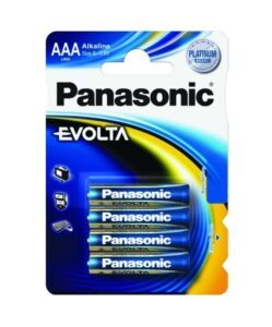 Panasonic Evolta AAA, LR03, blistr 4ks