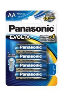 Panasonic Evolta AA, LR06, blistr 4ks