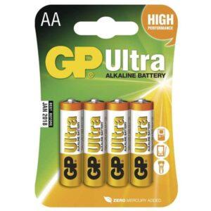 GP Ultra AA, LR06, blistr 4ks (GP 15AU)