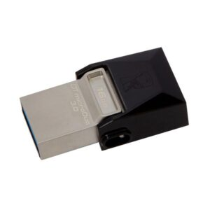 Kingston DataTraveler Micro Duo 3.0 16GB OTG MicroUSB/USB 3.0 černý (DTDUO3/16GB)