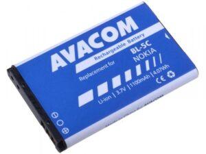 Avacom pro Nokia 6230, N70, Li-Ion 1100mAh (náhrada BL-5C) (GSNO-BL5C-S1100A)