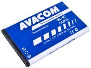 Avacom pro Nokia 6300, Li-Ion 900mAh (náhrada BL-4C) (GSNO-BL4C-S900A)
