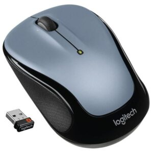 Logitech Wireless Mouse M325 stříbrná / optická / 3 tlačítka / 1000dpi (910-002334)