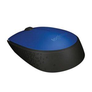 Logitech Wireless Mouse M171 modrá / optická / 2 tlačítka / 1000dpi (910-004640)