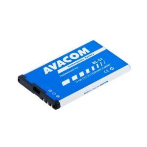 Avacom pro Nokia 5230, 5800, X6, Li-Ion 1320mAh (GSNO-BL5J-S1320)