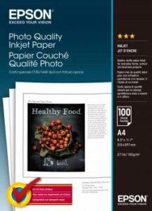 Epson Photo Quality A4, 102g, 100 listů bílý (C13S041061)