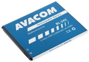 Avacom pro Lenovo A6000, Li-Ion 3,8V 2300mAh (náhrada BL242) (GSLE-BL242-2300)