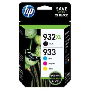 HP 932XL černá + 933XL, CMYK (C2P42AE)