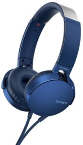 Sony MDR-XB550AP Extra Bass™ modrá (MDRXB550APL.CE7)