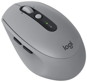 Logitech M590 Silent - mid gray  / optická / 7 tlačítek / 1000dpi (910-005198)