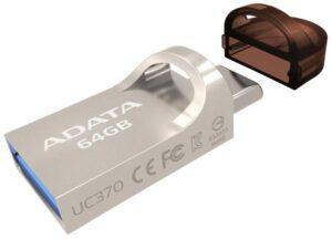 ADATA UC370 64GB OTG USB-C/USB 3.1 zlatý (AUC370-64G-RGD)