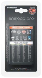 Panasonic Eneloop Smart-Quick Charger pro AA,AAA + 4x AA Panasonic Eneloop Pro 2500mAh černá (K-KJ55HCD40E)