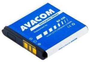 Avacom pro Nokia 6233, 9300, N73, Li-Ion 3,7V 1070mAh (náhrada BP-6M) (GSNO-BP6M-S1070)