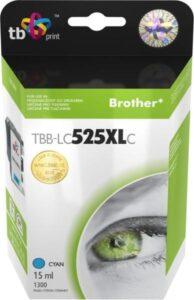 TB LC525XLC pro tiskárny Brother DCP-J100/DCP-J105/MFC-J200 1300 str. – cyan, kompatibilní (TBB-LC525XLC)