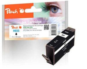 Peach HP 655,665 stran, kompatibilní černá (319267)
