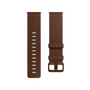 Fitbit pro Versa kožený -  cognac large (FB166LBDBL)