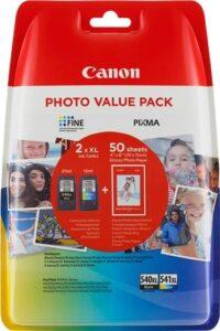 Canon PG-540XL/CL-541XL PHOTO VALUE Pack, 1000 stran, CMYK (5222B013)