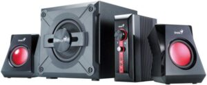 Genius GX Gaming SW-G 2.1 1250 černé/červené (31730980100)