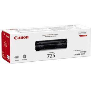 Canon CRG-725, 1,6K stran, originální černý (3484B002)