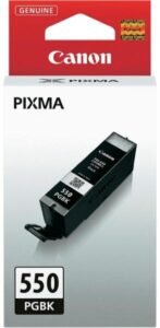 Canon PGI-550 PGBK, 300 stran - originální černá (6496B001)
