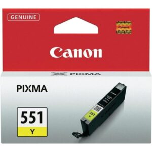 Canon CLI-551 Y, 330 stran - originální žlutá (6511B001)