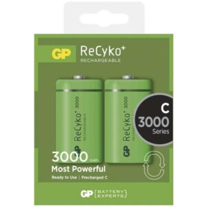 GP ReCyko+ C, HR14, 3000mAh, Ni-MH, krabička 2ks (1033312010)