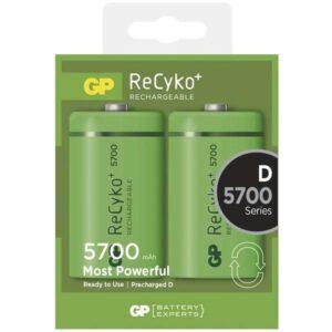 GP ReCyko+ D, HR20, 5700mAh, Ni-MH, krabička 2ks (1033412010)