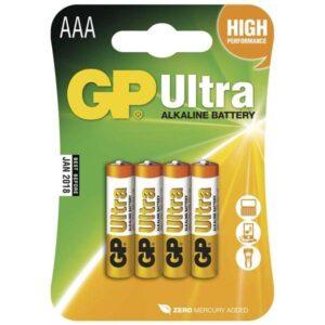 GP Ultra AAA, LR03, blistr 4ks (GP 24AU)