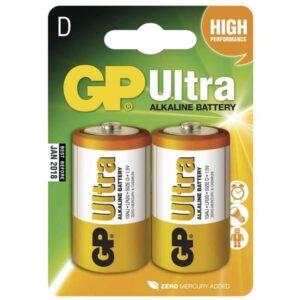GP Ultra D, LR20, blistr 2ks (GP 13AU)