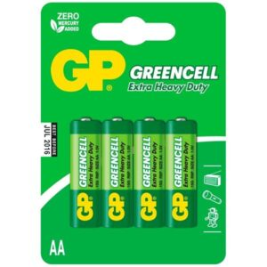 GP Greencell AA, R06, blistr 4ks (GP 15G)