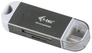 i-tec USB 3.0 Dual Card Reader šedá (U3CRDUO-GR)