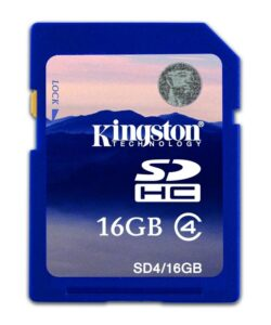 Kingston SDHC 16GB Class4 (SD4/16GB)