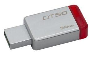 Kingston DataTraveler 50 32GB červený/kovový (DT50/32GB)