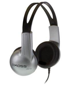 Koss Stratus (doživotní záruka) černá/stříbrná