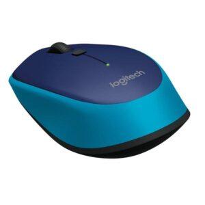 Logitech Wireless Mouse M335 modrá / optická / 4 tlačítka / 1000dpi (910-004546)