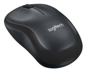 Logitech Wireless Mouse M220 Silent černá / optická / 3 tlačítka / 1000dpi (910-004878)