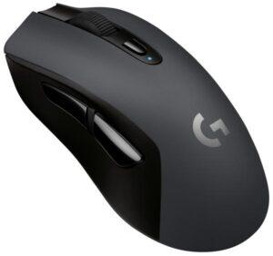 Logitech Gaming G603 Lightspeed Wireless černá / optická / 6 tlačítek / 12000dpi (910-005101)