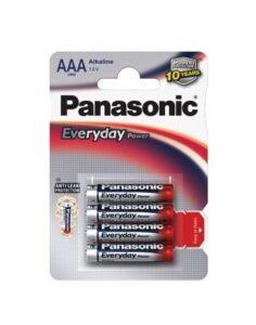 Panasonic Everyday AAA, LR03, blistr 4ks