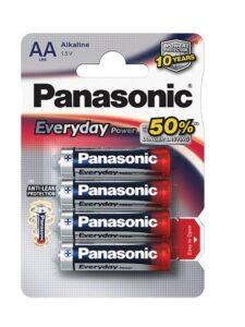 Panasonic Everyday AA, LR06, blistr 4ks (LR6EPS/4BP)
