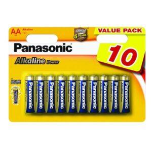 Panasonic ALKALINE POWER AA, LR06, blistr 10ks