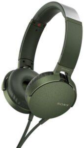 Sony MDR-XB550AP Extra Bass™ zelená (MDRXB550APG.CE7)