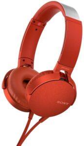 Sony MDR-XB550AP Extra Bass™ červená (MDRXB550APR.CE7)